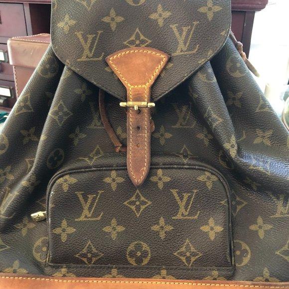 Louis Vuitton Handbags - Vintage Louis Vuitton Back Pack Purse